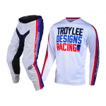 Troy Lee Designs Kinder Crosskleding 2019 GP AIR Premix 86 - Wit