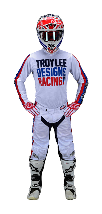 Offroad|Motocross Troy Lee Designs Adult GP Air Jersey Premix 86 XX-Large, White