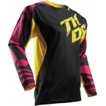 Thor Cross Shirt 2017 Fuse Air Dazz - Jeugd - Magenta / Geel