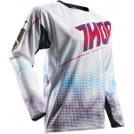 Thor Cross Shirt 2017 Fuse Air Lit - Wit / Rood