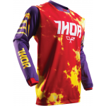 Thor Cross Shirt 2017 Pulse Tydy - Jeugd - Paars Fire