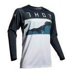 Thor Cross Shirt 2019 Prime Pro Fighter - Blauw / Camo