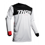 Thor Cross Shirt 2019 Pulse Air Factor - Wit / Rood