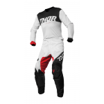 Thor Crosskleding 2019 Pulse Air Factor - Wit / Rood