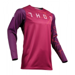 Thor Cross Shirt 2019 Prime Pro Infection - Maroon / Rood Oranje