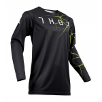 Thor Cross Shirt 2019 Prime Pro Infection - Zwart / Acid