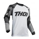 Thor Cross Shirt 2019 Sector Camo - Grijs / Wit