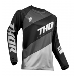 Thor Cross Shirt 2019 Sector Shear - Zwart / Grijs