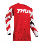 Thor Kinder Cross Shirt 2019 Pulse Stunner - Rood / Wit