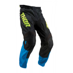 Thor Kinder Crossbroek 2019 Pulse Air Acid - Elektric Blauw / Zwart