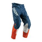 Thor Kinder Crossbroek 2019 Pulse Air Acid - Rood Oranje / Slate