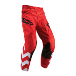 Thor Kinder Crossbroek 2019 Pulse Stunner - Rood / Wit