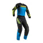 Thor Kinder Crosskleding 2019 Pulse Air Acid - Elektric Blauw / Zwart