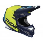 Thor Crosshelm 2020 Sector Blade - Navy / Acid