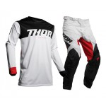 Thor Crosskleding 2020 Pulse Air Factor - Wit / Rood