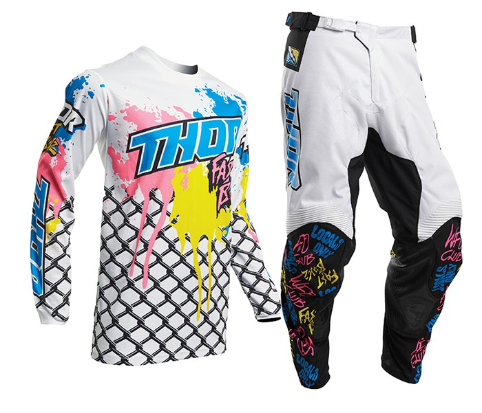 Thor Youth Pulse Fast Boyz Pants MX Moto Offroad Dirtbike Racing Pant