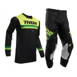 Thor Crosskleding 2020 Pulse Pinner - Zwart / Acid