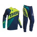 Thor Crosskleding 2020 Sector Blade - Navy / Acid