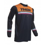 Thor Kinder Cross Shirt 2020 Pulse Air Pinner - Midnight / Oranje