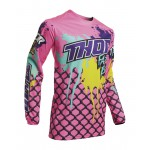 Thor Kinder Cross Shirt 2020 Pulse Fast Boyz - Roze