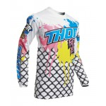 Thor Kinder Cross Shirt 2020 Pulse Fast Boyz - Wit