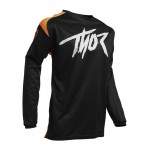 Thor Kinder Cross Shirt 2020 Sector Link - Oranje / Zwart