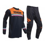 Thor Kinder Crosskleding 2020 Pulse Air Pinner - Midnight / Oranje