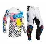 Thor Kinder Crosskleding 2020 Pulse Fast Boyz - Wit