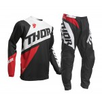 Thor Kinder Crosskleding 2020 Sector Blade - Charcoal / Red
