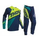 Thor Kinder Crosskleding 2020 Sector Blade - Navy / Acid