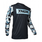 Thor Cross Shirt 2020 Pulse Fire - Midnight / Poeder Blauw