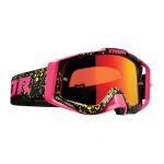 Thor Crossbril 2021 Sniper Pro Splatte - Flo Roze / Zwart