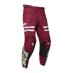 Thor Crossbroek 2020 Pulse Fire - Zwart / Maroon