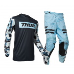 Thor Crosskleding 2020 Pulse Fire - Midnight / Poeder Blauw