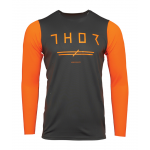 Thor Cross Shirt 2021 Prime Pro Unrivaled - Charcoal / Flo Oranje