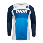 Thor Cross Shirt 2021 Pulse Racer - Wit / Navy