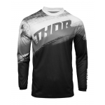 Thor Cross Shirt 2021 Sector Vaper - Zwart / Wit