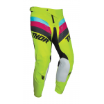Thor Crossbroek 2021 Pulse Racer - Acid / Zwart