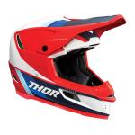 Thor Crosshelm 2021 Reflex Apex - Rood / Wit / Blauw