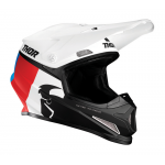 Thor Crosshelm 2021 Sector Racer - Wit / Rood / Blauw