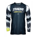 Thor Kinder Cross Shirt 2021 Pulse Air Rad - Midnight / Wit