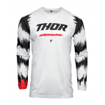 Thor Kinder Cross Shirt 2021 Pulse Air Rad - Wit / Rood