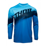 Thor Kinder Cross Shirt 2021 Sector Vaper - Blauw / Midnight