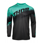 Thor Kinder Cross Shirt 2021 Sector Vaper - Charcoal / Mint