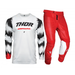 Thor Kinder Crosskleding 2021 Pulse Air Rad - Wit / Rood