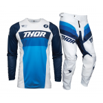Thor Kinder Crosskleding 2021 Pulse Racer - Wit / Navy