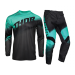 Thor Kinder Crosskleding 2021 Sector Vaper - Charcoal / Mint