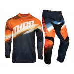 Thor Kinder Crosskleding 2021 Sector Vaper - Oranje / Midnight