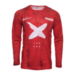Thor Cross Shirt 2021S Pulse HZRD - Rood / Wit