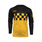 Thor Cross Shirt 2022 Hallman Differ Cheq - Geel / Zwart